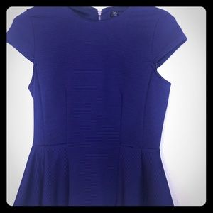 Topshop- Blue Short Sleeve Blouse size 6